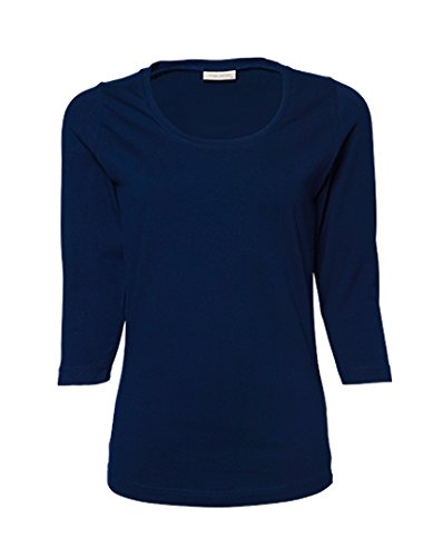 Ladies 3/4 Sleeve Stretch Tee (3/4 Tee Sleeve)