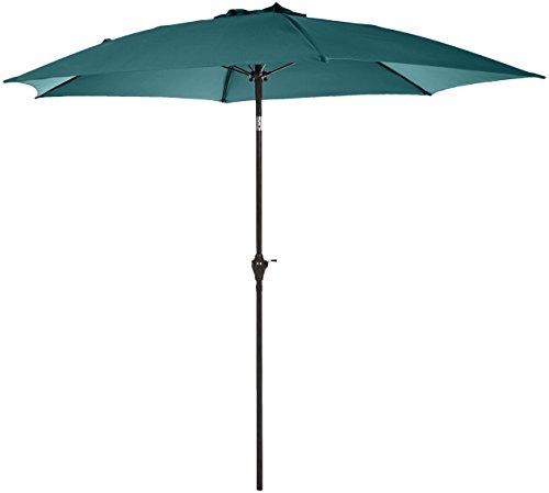 AmazonBasics JC009 Parasol de patio Vert 2,74 m