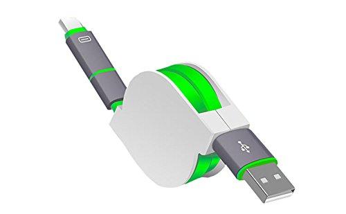 smtr-combo-de-interfaz-micro-usb-type-c-cable-de-conexion-retractilconector-usblongitud-1m-verde