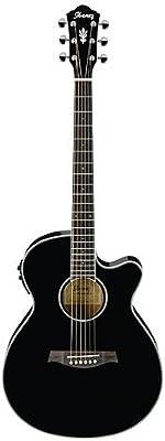 Ibanez AEG10II - Bk guitarra acústica electrificada