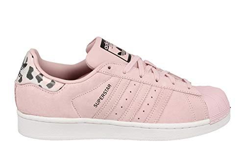 adidas Unisex-Erwachsene Superstar J Fitnessschuhe, Pink (Rosa 000), 38 2/3 EU