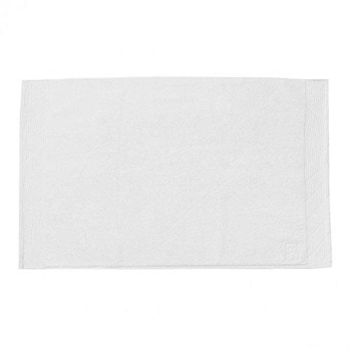 Bailet B001TB-senza tempo doccia BC01 asciugamano, cotone pettinato, 60 x 90 cm, bianco
