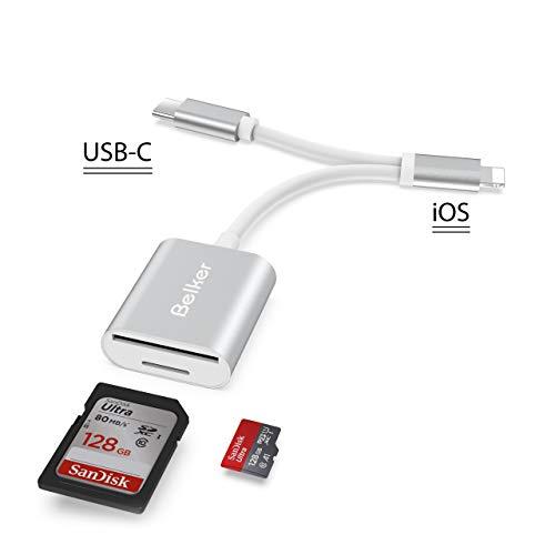 Belkertech Lector Tarjetas USB C SD 2 1 Tipo C iPhone