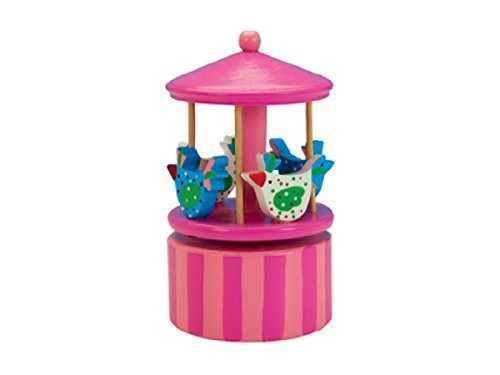 MusicBox Kingdom 43807 Chicken Carousel Music Box Playing