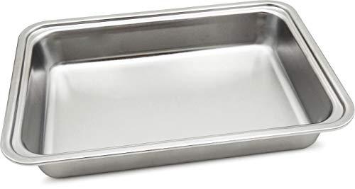 Spice vaschetta di ricambio in acciaio inox per scaldavivande portatile amarillo inox trio +dv spp030 e spp030-dv