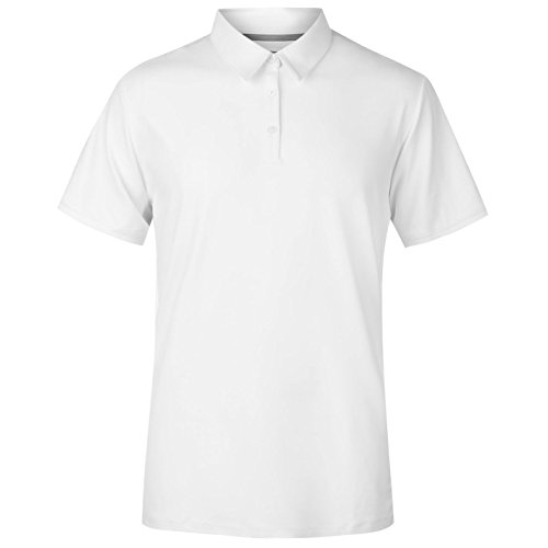 Ashworth Herren Intro Golf Polo Shirt Kurzarm Weiß X L (Herren Ashworth Golf-t-shirts)