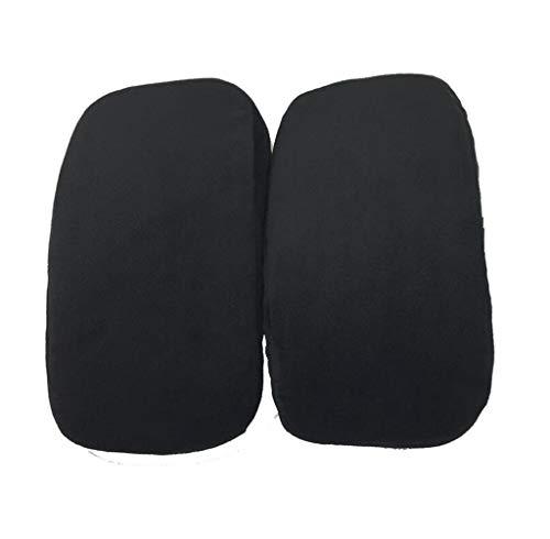 JHKJ Stuhl Armlehne Pads Memory Foam Ellenbogen Kissen Unterstützung Armlehne Abdeckungen Bürostuhl Arm Pads Universal Kissen,2Pair -
