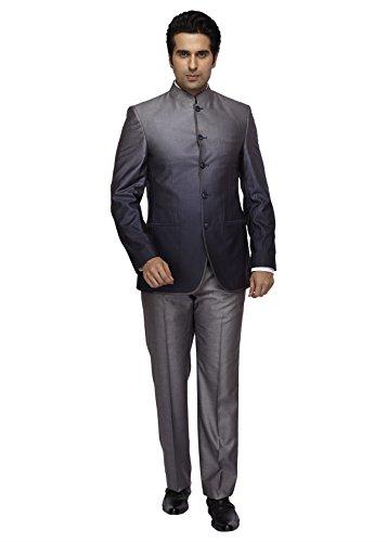 Park Avenue Grey Men Suit