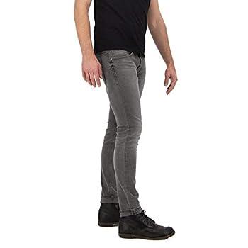 Kuyichi Herren Jeans Kale Skinny Bio-Baumwolle Grau