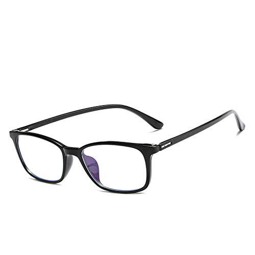 Lifet Frauen/Männer Lesebrille Lesehilfe Brillen TR90 Frame Anti-Blu-Ray Computer Dioptrien von +1.00-4.00 (+ 1,00, Schwarz)