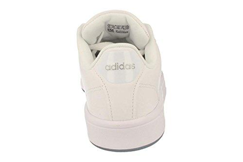 adidas Cloudfoam Advantage Clean W, Scarpe da Ginnastica Donna bianco (Ftwbla / Ftwbla / Plamat)