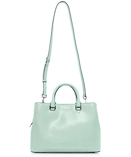 MICHAEL Michael Kors Grande Savannah Satchel Bag Green Green
