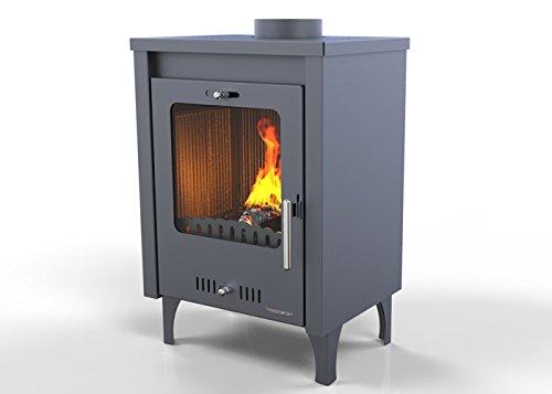 Hosseven-estufa-de-lea-OLYMPUS-75-kW-bio-eficiencia-clase-energtica-A-eco-calefaccin-y-bioclimatismo-sostenible-color-gris