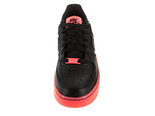 Nike Jungen Air Force 1 Lv8 (Gs) Basketballschuhe Black/Hot Lava