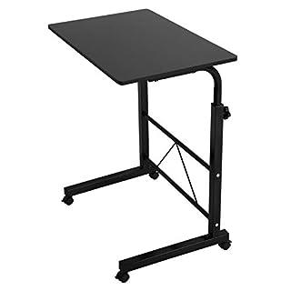 AllRight Laptoptisch Computertisch Sofa Bett Ständer Schreibtisch Pflegetisch Einstellbar (Schwarz)
