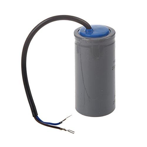 Einphasenmotor - TOOGOO(R) CD60 AC 250V 150uF Verdrahteter Einphasenmotor Start Kondensator Grau