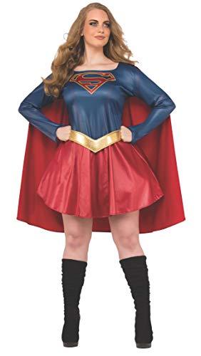 Rubie's Women's Plus Size Supergirl TV Fancy dress costume Plus (Plus Size Supergirl)
