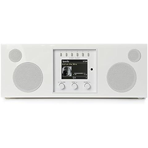 Como Audio Duetto Piano Bianco (Singolo Stereo Cabinet)