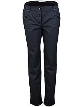 BETTY BARCLAY Slim Fit Hose Beschichtet schwarz