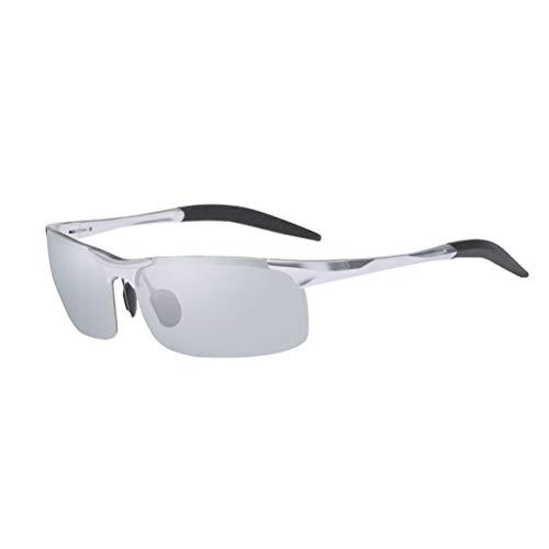 BESPORTBLE Herren Sonnenbrillen Aluminium Magnesium Rahmen Autofahren Sonnenbrillen Polarisierte Brille Stil Brillen