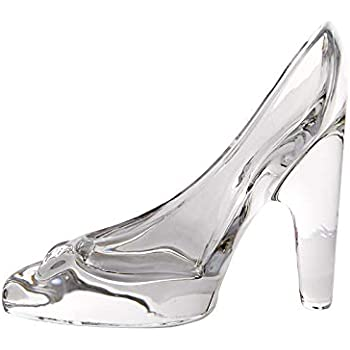ca973e585525 Wa Transparent Cinderella Crystal High-heeled Shoes Glass Slipper Princess  Feelings Ornaments Pendant Wedding Party Decoration Gift for Kids Girls  Daughter ...