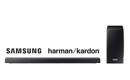Samsung HW-Q60R Haut-Parleur soundbar 5.1 canaux 360 W Noir - Haut-parleurs soundbar (5.1 canaux, 360 W, DTS 5.1,Dolby Digital 5.1, Caisson de Basse Actif, avec Fil &sans Fil, 31 W)