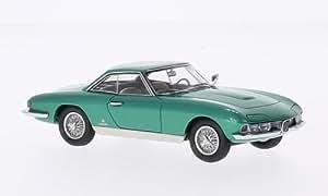 Alfa Romeo 2600 Coupe Speciale Pininfarina, metallic-vert, 1962, voiture miniature, Miniature déjà montée, Kess 1:43