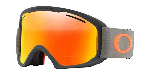 Oakley O Rahmen 2.0Asian Fit Snow Goggle, Haarbürste, groß, Eisen