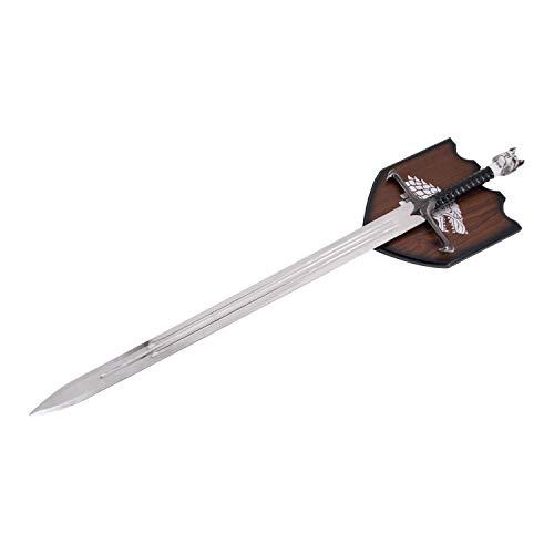 Espada de decoración o para Bodas -SIN Filo- Replica -Garra- Jon Niev