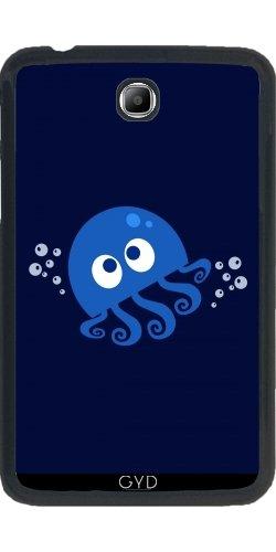 DesignedByIndependentArtists Hülle für Samsung Galaxy Tab 3 P3200-7' - Sprudelnde Krake by AnishaCreations