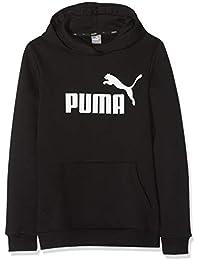 Puma ESS FL Sudadera, Cotton Black, 164