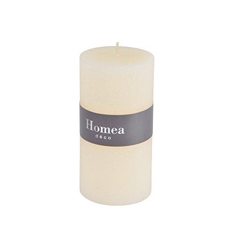 HOMEA 6BPC020EC Bougie Cylindrique Paraff