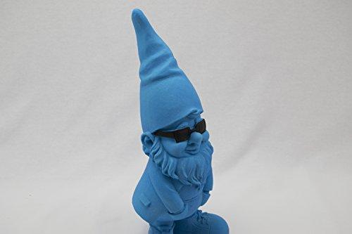 """be4To®GARTENZWERG""""GLOW IN THE DARK"""" XXL 30 CM (Blau) - 3"""