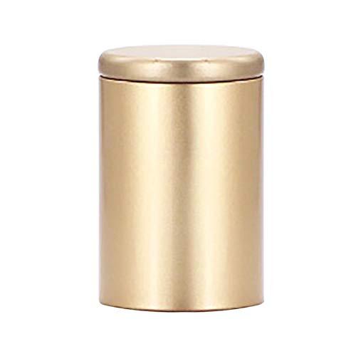 Kaffeedose Zuckerdose Teekiste Aufbewahrungsbox - Elegant Geschenk Für Männer Und Frauen - Rund...