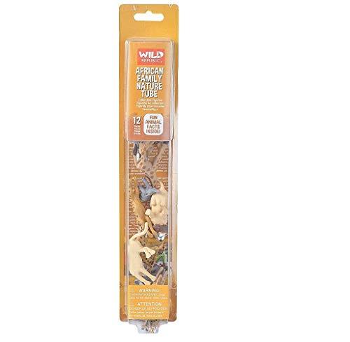 WILDREPUBLIC- Wild Republic, Tubo Figuras variadas en plastico 35cm (21668), 1