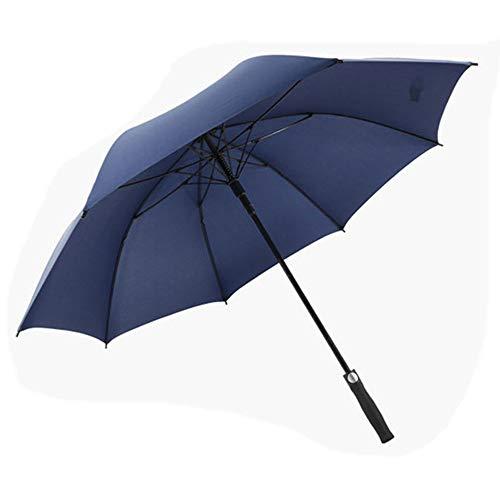 Golf Umbrella Wide Double Canopy Ventilation Automatic Opening Super Large Super Waterproof Sunscreen Regenschutz wetterfest Umbrella Black Red Blue,Blue