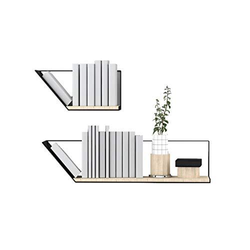 Einfaches Wand-hängendes Bücherregal Multifunktionsbücherregal/Collectibles/dekorative Einzelteile, sehr verwendbar für Wohnzimmer/Büro/Schlafzimmer -