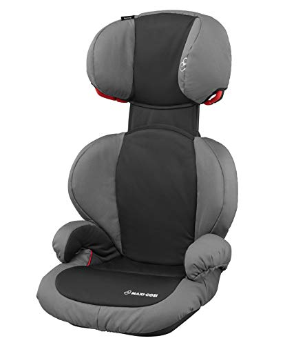 Maxi-Cosi Rodi SPS, Kinderautositz Gruppe 2/3 (ab 3, 5 Jahre bis ca. 12 Jahre, 15-36 kg), carbon black (grau)