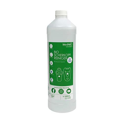 bio-chem Scherkopfreiniger 2.0 mit verbesserter Rezeptur 1000 ml Nachfüllflüssigkeit für Reinigungskartuschen & Tanks