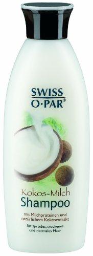 Swiss-o-Par Kokos-Milch Shampoo 250 ml, 2er Pack (2 x 250 ml)