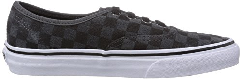Vans U AUTHENTIC (CHECKERBOARD S) Unisex-Erwachsene Sneakers Schwarz ((Checkerboard S EQ1)