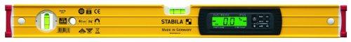 STABILA Elektronik-Wasserwaage Type 96 M electronic IP 65, 61 cm, mit Seltenerd-Magnetsystem, 2 Digital-Displays und Wasserwaagen-Tasche