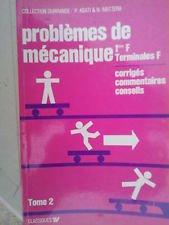 Mécanique : Terminales F