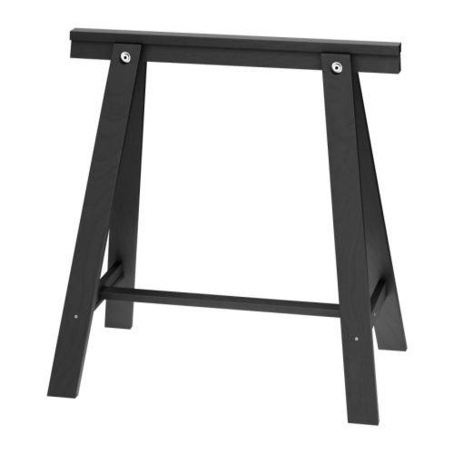 Ikea Oddvald-Tréteau, Noir-70x 70cm