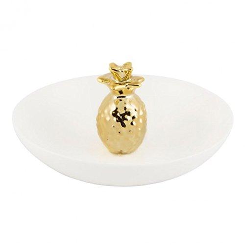 Gold Pineapple Trinket Dish -