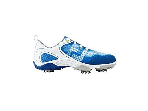 Footjoy Jungen FJ Junior Boys Golfschuhe, (weiß/blau), 38 EU