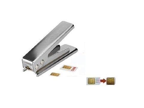 Avcibase 4260310644967 Nano Sim Karte Schneider Stanzer für Apple iPhone 5S/5C/5