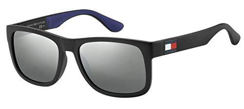 Tommy Hilfiger Herren Th 1556/S Sonnenbrille, Mehrfarbig (Blk Blue), 52