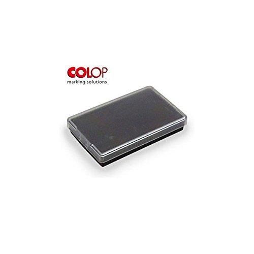 Cuscinetto E/40 Nero Tampone di Ricambio per Timbro Colop 40, 23X59 mm