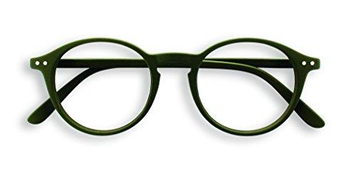 See Concept Lesebrille LetmeSee #D Kaki Green Soft +3.00, 15x4,5x2 cm